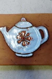 Белый чайник