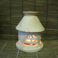 """Аромолампа"""" Снежный домик"""", в.15см, цена 250руб"""