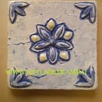 Цветок синий, 20-20см,